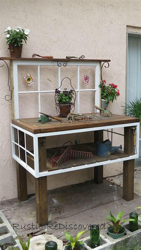 garden tool bench 93 best gardening sinks potting tables images on