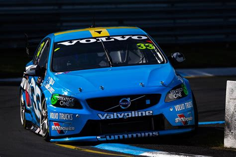 volvo polestar racing aiming  podium  bathurst