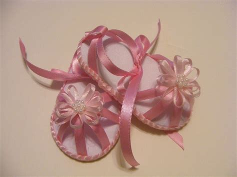 Aksara Sepatu Bayi Flower Pink Baby Shoes 72 best images about ribbon baby shoes on ribbon baby bows and no sew baby
