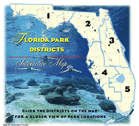 florida state parks map map of florida state parks my
