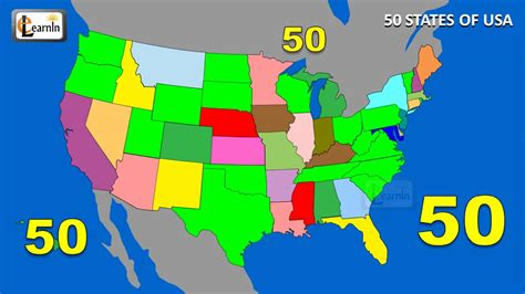 50 states map song 50 states states song fifty states of usa song states on