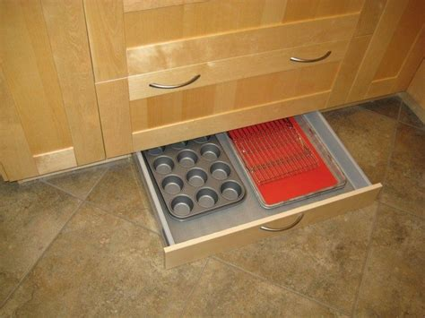 toe kick drawer kit how to build a toe kick drawer diy projects for everyone