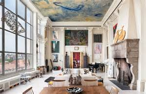 How To Decorate Your Livingroom new york loft adorned by fascinating art collection worth