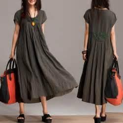 comfort linen maxi dress unique summer crochet army by
