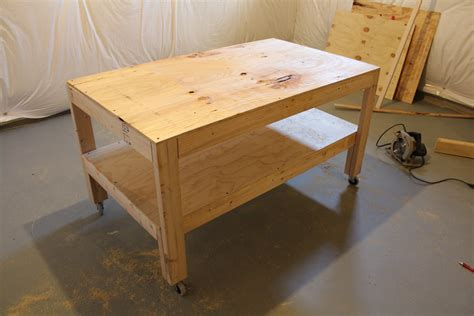 Work Table Plans With Wheels Pdf Woodworking