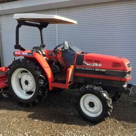 mitsubishi tractor mt266 n a used for sale