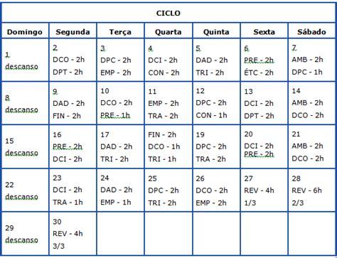 William Douglas Calendario De Estudos Pin Plano Estudos On