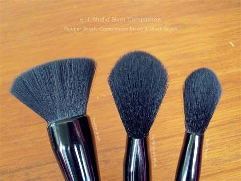 Studio Complexion Brush e l f studio brush comparison makeupfu