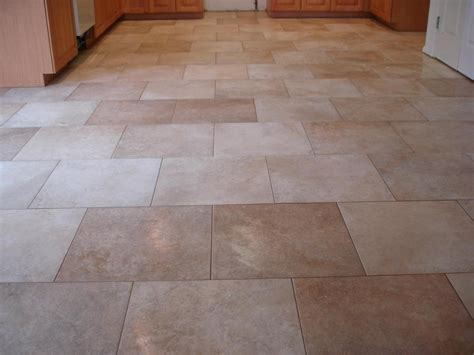 kitchen floor tiles layout on