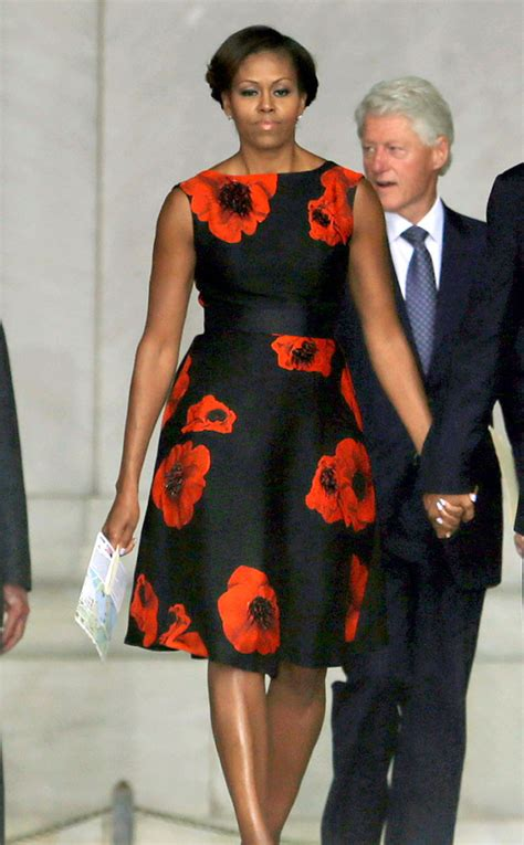 Political Fashion Obamas Dress by Floral Fashion From Obama S Best Looks Floral