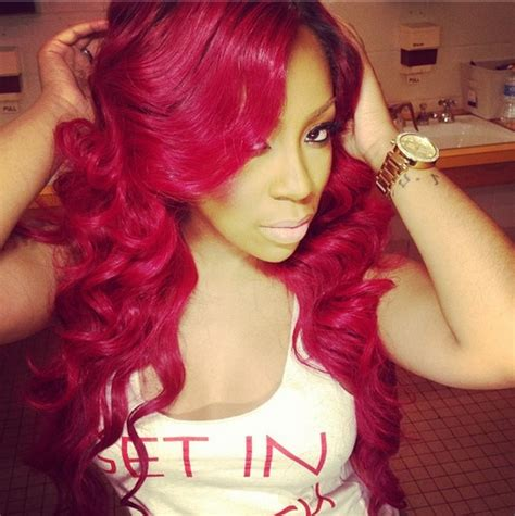 pic of k michelle cury hair k michelle curly hair