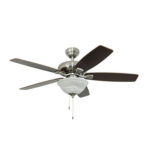 fans ardmore 52 in brushed nickel ceiling fan