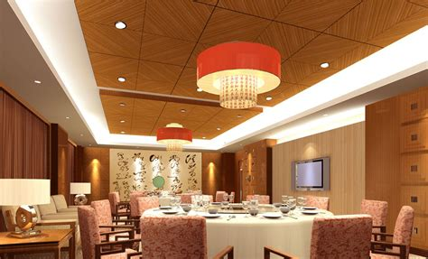 Restaurant With Room by Restaurant Dining Room Wooden Decoration 3d