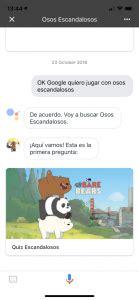 asistente de google preguntas graciosas pardo polar y panda irrumpen en el asistente de google