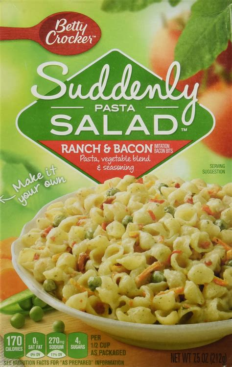 pasta salad box amazon com suddenly pasta salad classic 7 75 ounce