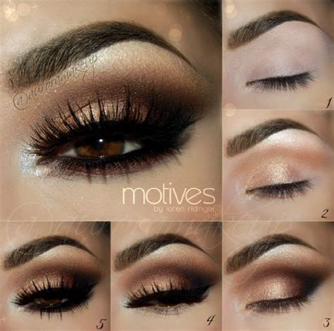 eyeshadow tutorial dark 15 step by step smokey eye makeup tutorials for beginners
