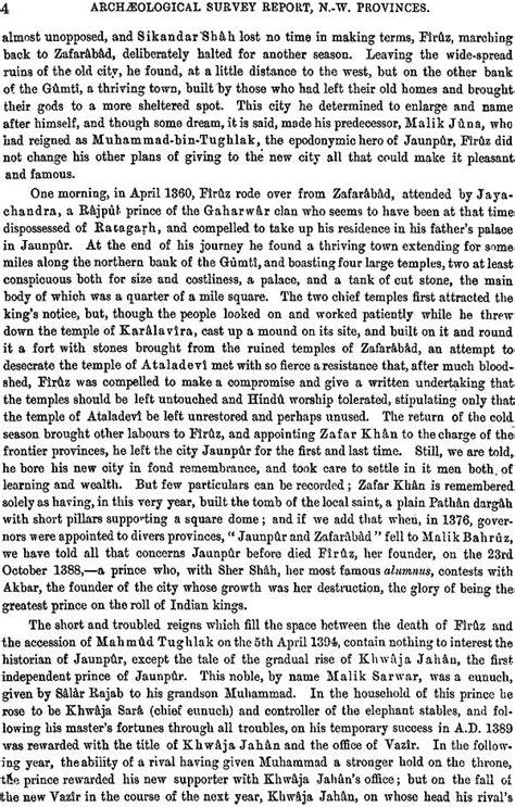 The Sharqi Architecture of Jaunpur
