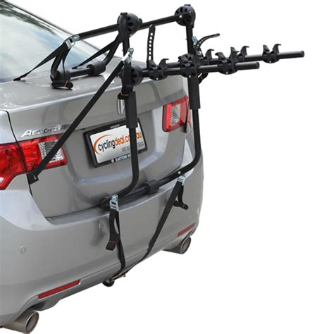 Car Back Rack by 3 Bike Car Carrier Rack Bicycle Rear Racks Strong Ebay