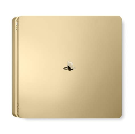 playstation 4 500gb console playstation 4 slim 500gb gold console with