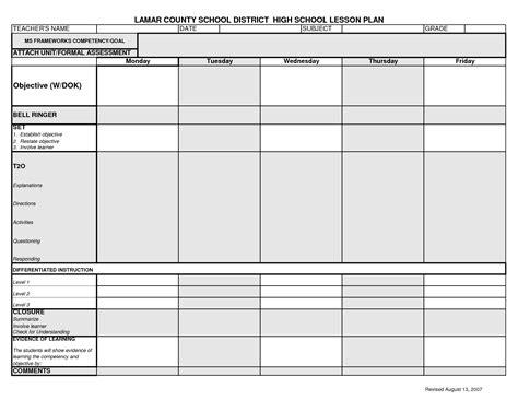 science lesson plan template teacherlingocom best 25 lesson plan