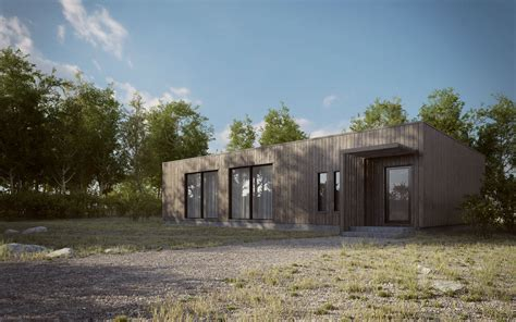 making house making of scandinavian summer house 3d architectural visualization rendering blog