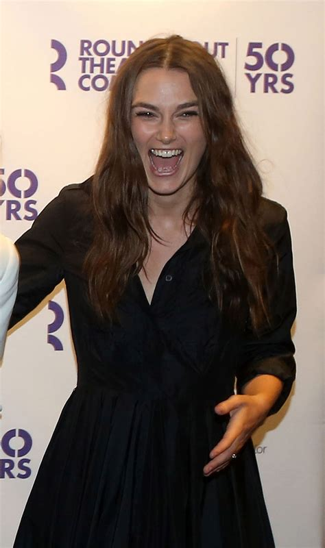 50 Photos Of Keira Knightley by Keira Knightley At Roundabout 50th Anniversary Celebzz