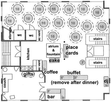 wedding floor plans sle floor plans and room setup ideas to create your own venue rembrandt yard gallery