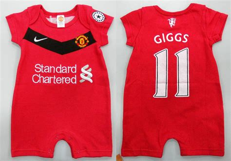 Manchester united baby clothes girl gloss