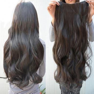 Rambut Palsu Wanita rambut palsu panjang wanita perempuan jenis lurus warna