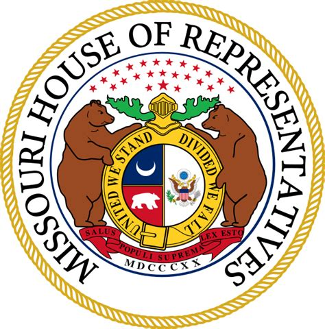 Missouri House Of Representatives file seal of the missouri house of representatives svg