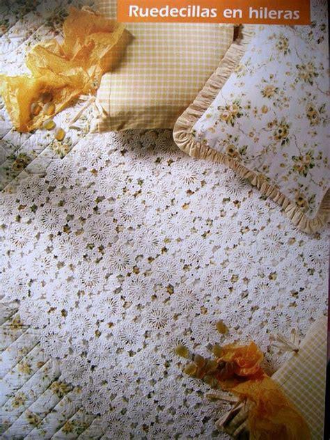 piastrelle uncinetto per coperte copriletto piastrelle uncinetto rotonde 1 magiedifilo
