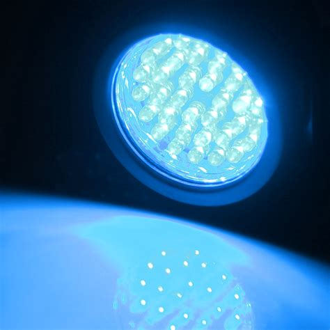 led underwater spot light 4x 36 blue led underwater spot lights for water aquarium