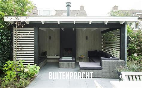 veranda zwart hout ontwerp realisatie buitenpracht stijlvolle houtbouw
