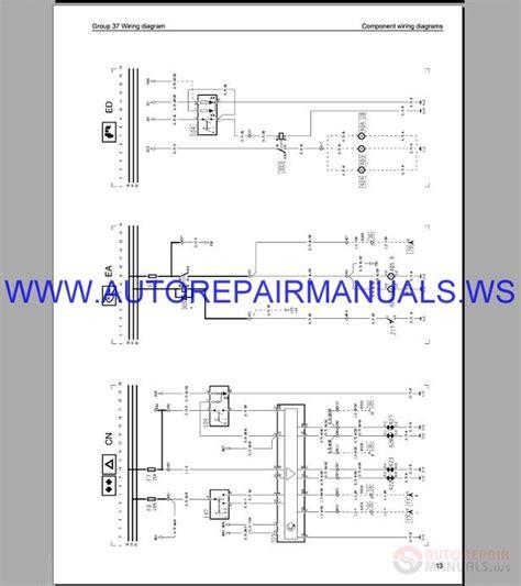 volvo fh16 trucks wiring diagram service manual auto