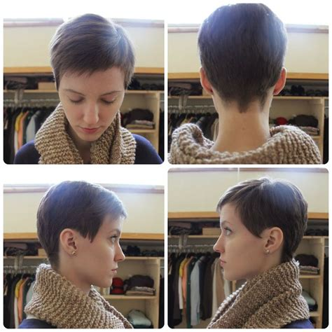 Pixie Haircuts At Home | our wood home pixie cut i m thinking a little longer