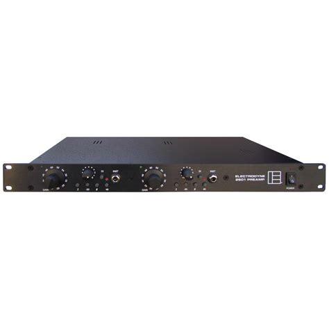 1 Ch Pre Mic electrodyne 2501 2 channel mic pre vintage king pro