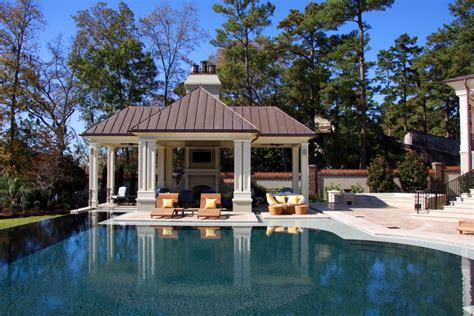 Pool Cabana Plans pool cabana ideas pool traditional with column concrete