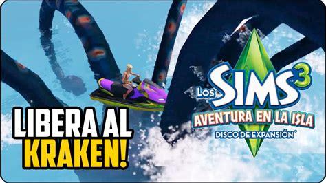 aventura en la isla los sims 3 aventura en la isla 161 libera al kraken tutorial youtube