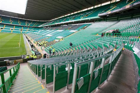 celtic park standing section thousands of rangers fans sign petition calling for safe