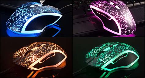 Rapoo V20 Rgb Lightning Gold Gaming Mouse Rgb Wireless 1