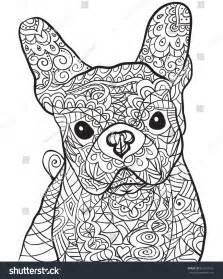 hand drawn dog bulldog isolated stock vector 362372720 shutterstock