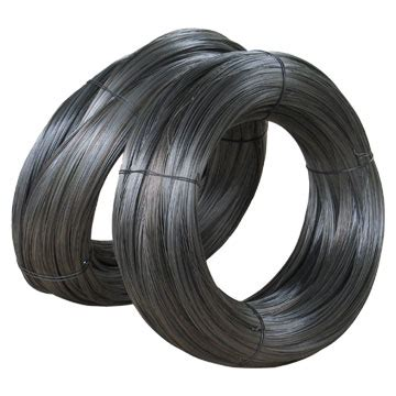 black wire black iron wire