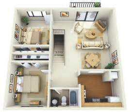 Floor Plan Of A 2 Bedroom House by 2 Bedroom Apartment House Plans