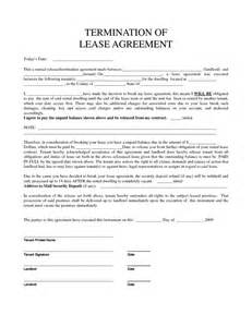 Termination Letter Of Lease Agreement From Landlord Personal Property Rental Agreement Forms Property