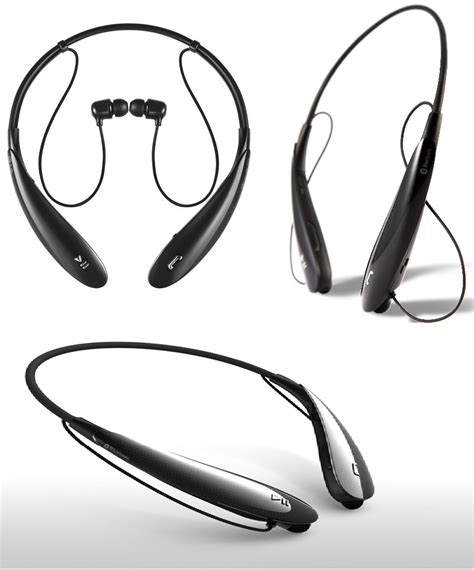 Headset Bluetooth Lg Hbs 800 new lg premium bluetooth headset tone plus hbs 800 black jbl ebay