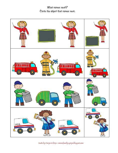 community helpers printables preschool printables