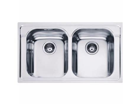 lavelli acciaio franke lavello a 2 vasche da incasso in acciaio inox amx 620 by