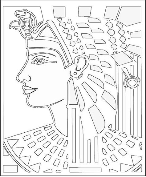 free ancient egyptian clothing coloring pages