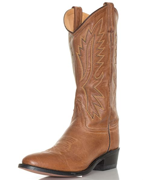 brown cowboy boots mens west s 13 quot narrow toe western boots brown