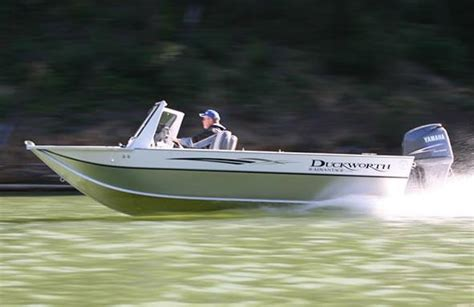 duckworth boat canvas duckworth boats advantage outboard 18 boats for sale